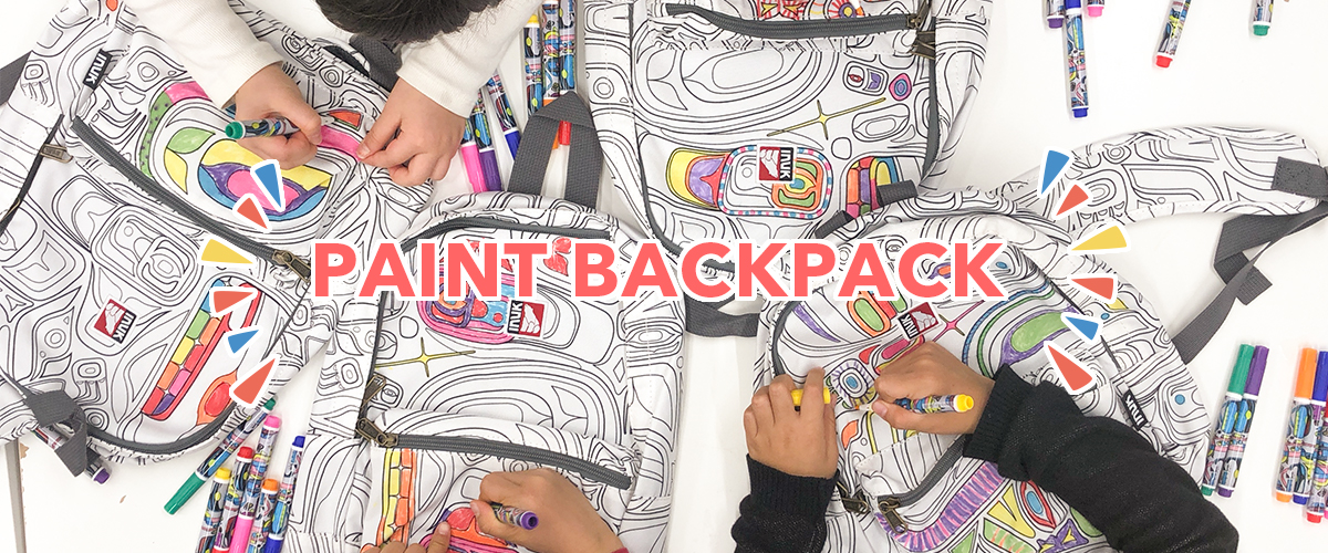 PAINT BACKPACK