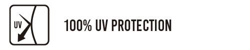 100% UV PROTECTION